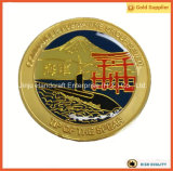 군 기념품 반대로 청동 3D 금속 동전 해군 동전 (JINJU16-035)