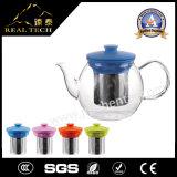 Vetro termoresistente dei punti promozionali per il POT del tè della teiera dell'acciaio inossidabile