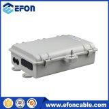 Caixa de distribuição portuária do cabo de Opitc da fibra de FTTH 24 ao ar livre
