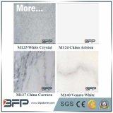 Bonne qualité de la pierre de marbre pour des partie supérieure du comptoir de cuisine/dessus de vanité/dessus de barre