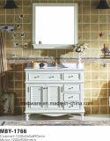 "15"" clásico tocador de baño Gabinete de madera sólida"