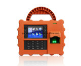 Bewegliches biometrisches Fingerabdruck-Nähe-Karten-Zeit Attendnace Handsystem (TFT500P)