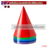 Hochzeits-Weihnachtsgeschenk-Partei-Zubehör-farbige Partei-Primärhüte (C1039)