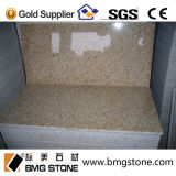 Natürliche rostige gelbe Steinfliesen des Granit-G682