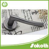 Горячая ручка двери Skt-L001 цинка никеля черноты надувательства
