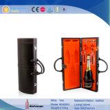 Boîte Shaped à vin de cuir de nouveauté de violon fait sur commande portatif (5496R5)