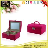 Lether Jewelry Box Manufacturers China (8048R8)