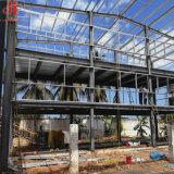 Gebildet in China-Entwurfs-vorfabriziertem Stahlgebäude