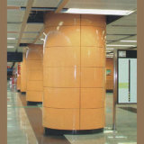Subway Station Wall Decoration를 위한 에나멜을 입힌 Aluminum Panel