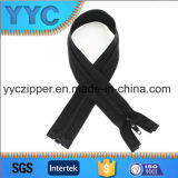 Zipper longo de nylon quente da extremidade aberta das vendas para o revestimento
