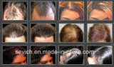Kleines Miniglas-/Flaschen-Haar, das Produkt-Spray-Haar-Fasern anredet