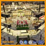 Modelos del este de la piedra del cuadrado de la puerta/modelos comerciales/multimedia /Project modelo del sonido del edificio y de la luz que construye el modelo