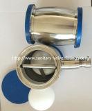 Acero inoxidable de 38 mm Sanitaria Tipo válvula de retención de bola soldada con drenaje