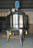 El tanque de mezcla de la mantequilla de cacahuete de la calefacción de vapor del acero inoxidable