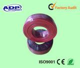Collegare (rosso e nero) dell'altoparlante del cavo R&B dell'altoparlante del PVC