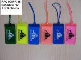 Tag de borracha relativo à promoção plástico da bagagem 3D da alta qualidade (LT-080)