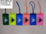 Qualität Plastic Promotional 3D Rubber Luggage Tag (LT-080)