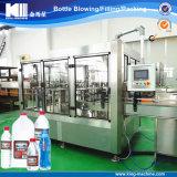 Cadena de producción de relleno de llavero del agua de vector
