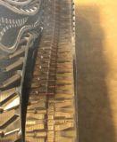 Trilha de borracha (250X52.5KX76) para as peças de maquinaria da máquina escavadora de Kubota K022