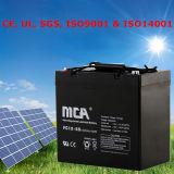Batterie solaire pour la batterie solaire 12V de panneaux solaires avec la garantie de cinq ans