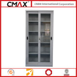 Glass Sliding Door Cmax-Sc003를 가진 서류 캐비넷 Full Height 찬장