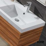Festes modernes Badezimmer-Schrank-Oberflächenbassin