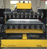 Grabador rotatorio del CNC con 8 cabezas