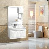 Установленный стеной водоустойчивый шкаф ванной комнаты PVC Morden