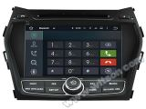 Carro DVD GPS do Android 5.1 de Witson para Hyundai IX45 com sustentação do Internet DVR da ROM WiFi 3G do chipset 1080P 16g (A5798)