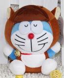 Het dierlijke Gevulde Stuk speelgoed van het Ontwerp Pluche, met past het Af:drukken van het Embleem aan