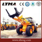 A tonelada ATV de Ltma 8 luta o carregador do Sugarcane com registro luta