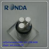 Подземный гибкий силовой кабель алюминиевого сплава 0.6kv