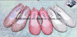 Sandalias cristalinas de la jalea de la alta calidad de señora Latest (FF614-6)