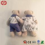 De passende Teddybeer van de Pluche van het Speelgoed van het Paar Mooie samen