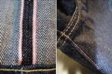 16.8oz Rough Selvedge Raw Denim Fabric (JY9860)