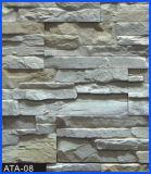 Revêtement en pierre, pierre de revêtement, pierre concrète, pierre artificielle, pierre manufacturée (ATA-08)