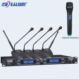 Micrófono sin hilos de la conferencia de la frecuencia ultraelevada del canal del profesional 2/4/8