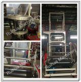 Máquina que sopla de extrudado de la película plástica del PE de tres Co de la capa