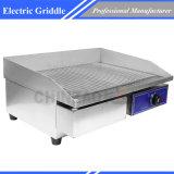 Электрический Griddle решетки с Ribbed варя плитой