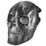 V1 두개골 굵은 활자 Airsoft 프로텍터 가면 금속 메시