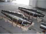 Schmieden runde Stahlrolle fertiger maschineller Bearbeitung 1045