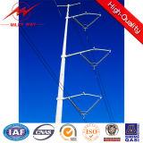 Pólo de energia elétrica para projeto de linha aérea