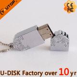 공식적인 복지 선물 패턴 금속 USB 섬광 드라이브 (YT-1239L)