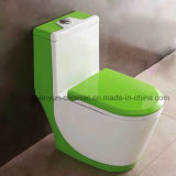 Планка сбережения воды Siphonic керамического цельного туалета топя (A-005)