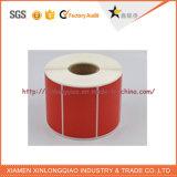 Красной напечатанный бумагой стикер принтера обслуживания печатание ярлыка Self-Adhesive