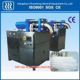 Máquina de fatura de gelo seco do CO2 com blocos