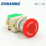 16mm Lumière DPDT étanche Push Button Switch