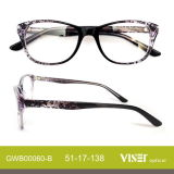 Acetato Optical Frame Eye Glass Eyeglass Frames con New Design (60-C)
