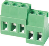 UL VDE homologué PCB Screw Rising Clamp Terminal Block (WJ129R-7.5)