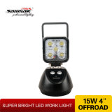 15W Super Bright Portable перезаряжаемые Flashing СИД Work Light